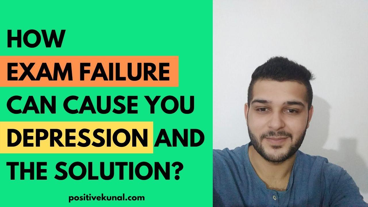 depression exam failure